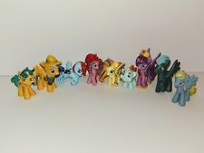 Pony Mini Figurines Lot Of 9 Pcs Toys