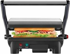 Electric Panini Press Grill and Gourmet Sandwich Maker