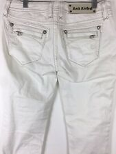 Rock Revival Skye Skinny Stretch Pants Jeans Size 28 White Low Rise