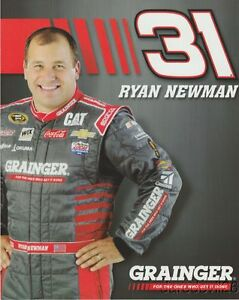 "2016 Ryan Newman Grainger ""1st issued"" Chevy SS NASCAR Sprint Cup postcard"