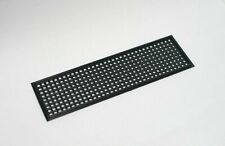 3x Improved Black Universal 3D Printed Customisable IO Shield Motherboard Plate