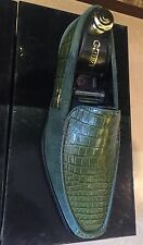 $11950 zilli shoes crocodile %90 new collection size zilli UK 8.5 EU 42.5 US 9.5