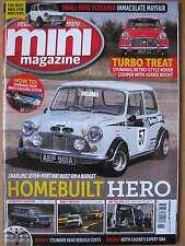 Mini magazine Summer 2016 Rover Cooper Turbo retro Mk1 Clubman 1275 GT Minivan