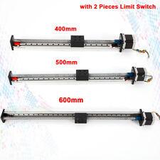 CNC Linear Module Rail Slide Stage Actuator Ball Screw Motion Table Nema23 Motor