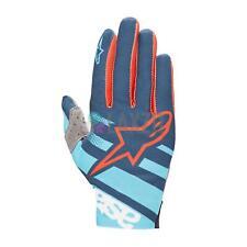 Alpinestars Racer Gloves Atoll Blue/Poseidon Medium - 2018 Mtb Gloves