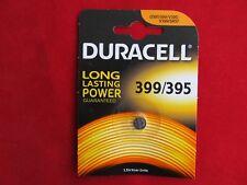 1x 399/395 Duracell  Batterie, SR57, SR927, GR927, V399, V395,Knopfzelle