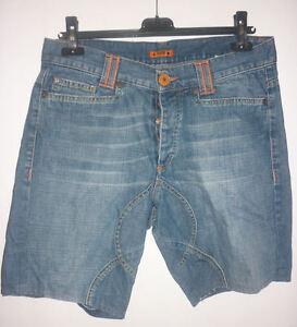 JEANS pantalone bermuda shorts FRUTTA abbigliamento moda uomo ragazzo estate 46