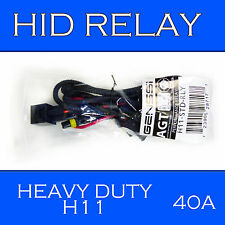 Xenon HID Conversion Relay Wiring Harness H11 with Plug Play Connector