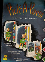 Pick-a-Poem - A Picture Play Book (1946) Children's Press