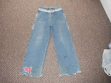 "B-Boi Perfect Crime Relaxed Fit Jeans W30"" L30"" Faded Dark Blue Mens Jeans"