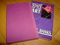 IAIN M BANKS-THE STATE OF THE ART-1ST US LTD-SIGNED-HB-VG-ZIESING-1989-MEGA RARE