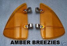 BREEZIES, AMBER for Wing Vent Window. Ford, Chevy, Olds