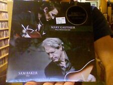 "Mary Gauthier Sam Baker Split 7"" When a Woman Goes Cold Ditch sealed vinyl + DL"