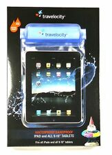 """TVWC-IPAD TRAVELOCITY Waterproof iPad/9""""-10"""" Tablet Case with Aux Connector"""