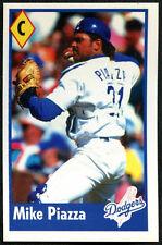 Mike PIAZZA # 24 PANINI MAJOR LEAGUE BASEBALL Adesivo 1995 (C348)