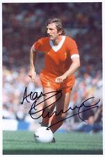 Alan Kennedy, Liverpool FC Legende, Unterzeichnet 30.5x20.3cm Foto Coa. Nachweis
