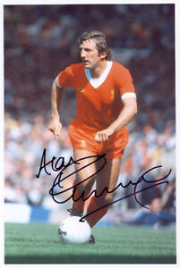 Alan Kennedy, Liverpool FC legend, signed 12x8 inch photo. COA. Proof.