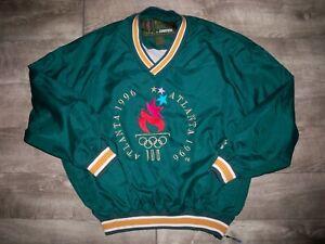Vtg Atlanta 1996 Summer Olympics Starter Pullover Windbreaker Jacket Mens XLarge
