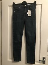 Ladies Bnwt Ankle Grazer High Waist Jeans , Size 12