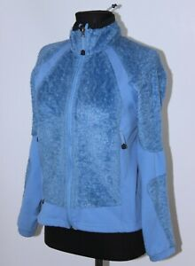 Haglofs womens active wear blue jacket jumper Size UK 10