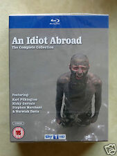AN IDIOT ABROAD - Complete Collection: Series 1+2+3 [Sky](Blu-ray)~~~NEW SEALED
