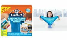 ELMER'S Slime StarterSet 8teilig DIY Slime Schleim Selber machen blau grün rot g