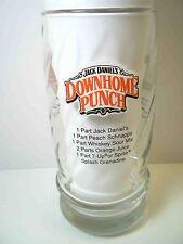 Jack Daniel's RECIPE glass DownHome Punch Tennessee Tea Lynchburg Lemonade 14 oz