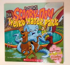 ☀️ Scooby-Doo and the Weird Water Park by Jesse Leon McCann 2000 Soft Cover Book