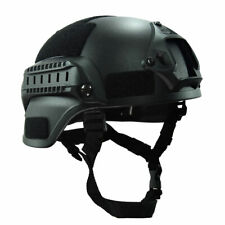 Outdoor Simplified Action Military Tactical Combat Mich2000 Helmet Black #u