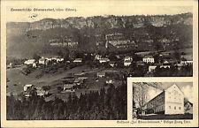 Mezná Stimmersdorf Tschechien Česká Böhmen AK ~1930 gelaufen nach Kötzschenbroda