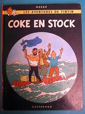 TINTIN COKE EN STOCK CASTERMAN 1981