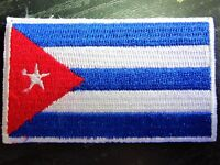 CUBA Cuban Country Flag Embroidered PATCH Badge *NEW*