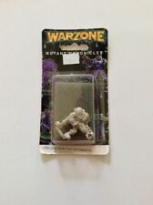 1995 Warzone Mutant Chronicles Miniature Necromutant With Tormentor 9851-A Metal