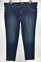 Atelier Gardeur Mens Nevio Regular Fit Jeans Straight Size 40x32 Blue Meas 40x33
