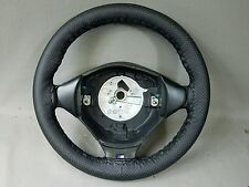 BMW E36 M3 Coupe Black Leather 3 Spoke Steering Wheel