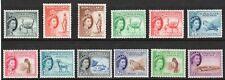 SOMALILAND Sg137 - Sg148 1953 set of 12 fine lightly m/mint