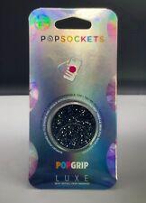 Authentic PopSocket Jet Black Crystal Swarovski PopSocket Pop Phone Holder