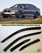 For Bmw 5 SD F10 2011-2016, Windows Visors Deflector Sun Rain Guard Vent