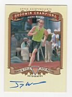 2012 Goodwin Champions Autograph Jeremy Wariner Track 400 Meters Olympic Gold