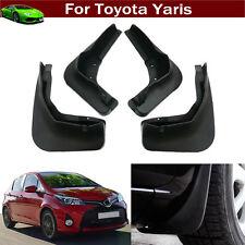 4 Car Mud Flap Splash Guard Fender Mudguard For Toyota Yaris Hatchback 2014-2017