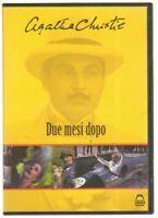 DUE MESI DOPO Agatha Christie DVD PAL ITA Abbinamento Editoriale