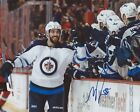 Mathieu Perreault Signed 8×10 Photo Winnipeg Jets Autographed COA C