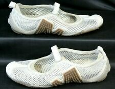 Merrell Relay Tour Beige Mesh Hiking Outdoor Mary Jane Shoes Size 10 Women's