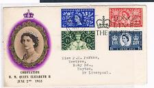 First Day of Issue Pre-Decimal Great Britain Stamps