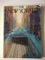 New Yorker Magazine - Nov 12 1960 Full Magazine, Cover Art, Arthur Getz
