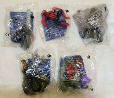 SPIDER-MAN 2 Burger King FRENCH happy meal type toys SPIDERMAN figures SET OF 5