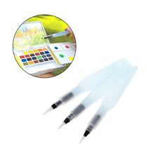 3Pcs Water Brush Ink Pen Art Tool for Watercolor Painting Drawing Calligraphy