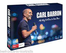 CARL BARRON: All My DVDs In One Box DVD BRAND NEW RELEASE 5-DISC GIFT BOX SET R4