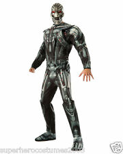 Avengers Age Of Ultron Ultron Deluxe Muscle Adult Costume Brand New - 810300