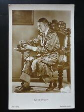 Actor CLIVE BROOK - Old RP Postcard by Ross Verlag 4985/1